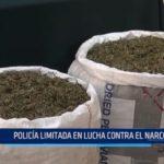 Huamachuco: Policía limitada en lucha contra el narcotráfico