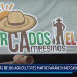 Piura: Más de 200 agricultores participarán en mercado campesino