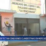 """La Rinconada: Detectan conexiones clandestinas de agua en mercado """"Roaya"""""""