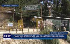 Informe Especial: Campesino se enfrenta a la gigante minera Quiruvilca