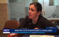 Piura: 40 millones de soles en inversión tras El Niño Costero