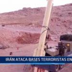 Irán ataca bases terroristas en Siria