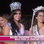 Melody Calderón es coronada Miss Perú La Libertad 2017