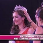 Alicia Montoya es elegida Miss Teen Model La Libertad 2017