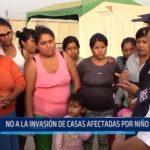 Trujillo: No a la invasión de casas afectadas por El Niño Costero