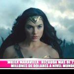 """""""Mujer Maravilla"""" recauda más de 220 millones de dólares a nivel mundial"""