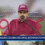 Venezuela: Maduro celebra recurso interpuesto por Fiscalía