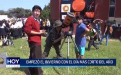 UNT: Escolares visitan observatorio en el día más corto del año