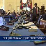 OEA no logra acuerdo sobre Venezuela