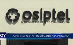 Osiptel: Se necesitan más antenas para 2021