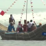 Huanchaco: Construyen tradicional patacho de 20 metros