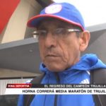 Campeón Pedro Horna correrá Media Maratón de Trujillo