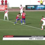 Perú venció 1 – 0 a Paraguay en partido amistoso