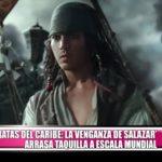 """""""Piratas del Caribe: La venganza de Salazar"""" arrasa taquilla a escala mundial"""