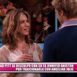 Brad Pitt se disculpó con su ex Jennifer Aniston por traicionarla con Angelina Jolie