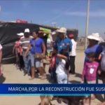 Trujillo: Marcha por la Reconstrucción fue suspendida