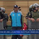 Huanchaco: Policías de Lima llegan para investigar crimen de juez de Paz
