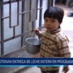 Trujillo: Cuestionan entrega de leche entera en programa municipal