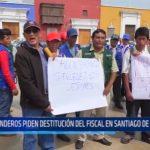 La Libertad: Ronderos piden destitución del fiscal en Santiago de Chuco