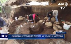 Nicaragua: Encuentran restos arqueológicos de 1200 años de antigüedad
