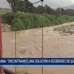 """Autoridad Nacional del Agua: """"Encontramos una solución a desbordes de quebradas"""""""
