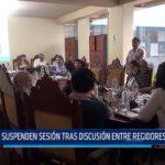 MPT: Suspenden sesión tras discusión entre regidores y alcalde