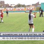 Sudamericano Sub 15 de softbol en Trujillo