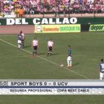 Sport Boys 0 – 0 Universidad César Vallejo