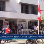 Lambayeque: SUCAMEC cierra renovación de licencias de armas de fuego