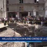 México: Hallan templo azteca en pleno centro de la capital