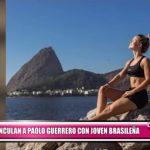 Vinculan sentimentalmente a Paolo Guerrero con joven brasileña