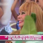 La Tigresa del Oriente fue eliminada del programa de Marcelo Tinelli