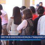 Trujillo: Director de Beneficencia respalda a trabajadores faltones