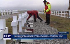 Argentina: Inicia identificación de víctimas en guerra de las Malvinas