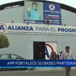 APP fortalece sus bases partidarias