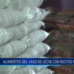Florencia de Mora: Alimentos del Vaso de Leche con restos fecales