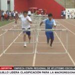 Atletismo escolar: Trujillo lidera clasificación para la macrorregional