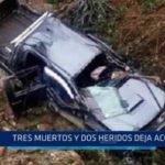 Pataz: Tres muertos y dos heridos es el resultado de accidente
