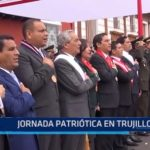 Jornada patriótica en Trujillo