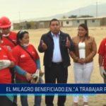 """El Milagro beneficiado en """"A trabajar Perú"""""""