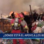 Cartavio: ¿Dónde está el apoyo a los bomberos?