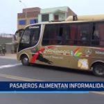 SUTRAN: Pasajeros alimentan informalidad en transporte interprovincial