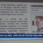 Caso Galindo: Amplían detención para implicados en crimen