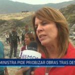 Ministra de Desarrollo pide priorizar obras tras desastre de El Niño Costero