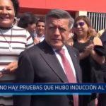 """Valdez sobre audiencia de Acuña: """"No hay pruebas de que hubo inducción al voto"""""""