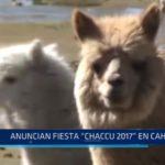 Santiago de Chuco: Anuncian Fiesta Chaccu 2017 en Cahuide