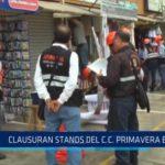 Trujillo: Clausuran stands del centro comercial Primavera