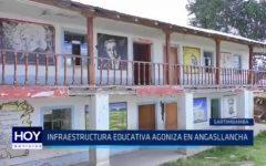 Sartimbamba: Infraestructura educativa agoniza en Angasllancha