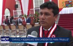 """Consejero por Virú: """"Chávez y Rodríguez son candidatos para Trujillo"""""""