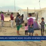La Libertad: Familias damnificadas siguen viviendo en carpas